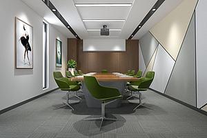 會議室模型模型3d模型