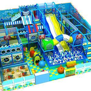 兒童樂園3d模型