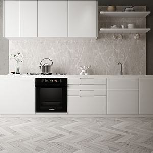 厨柜模型3d模型