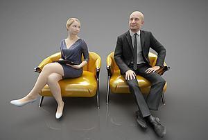 人物模特模型3d模型