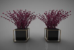 现代风格花瓶模型3d模型