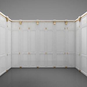 现代风格衣柜3d模型