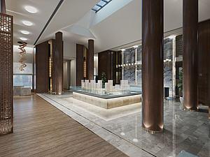 售樓處展示區模型3d模型