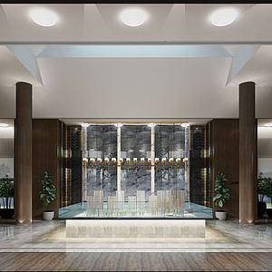 售樓處展示區3d模型