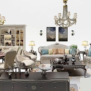 歐式家具3d模型