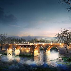 大橋3d模型