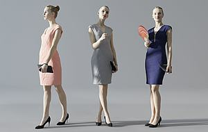 人物模型3d模型