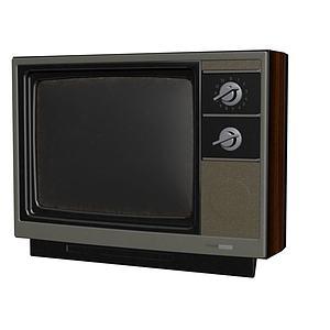 電視機3d模型