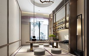 茶室模型3d模型