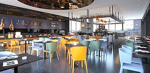 現代餐廳模型3d模型