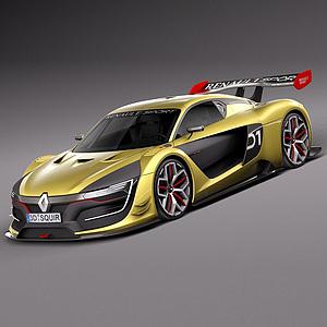 賽車模型3d模型