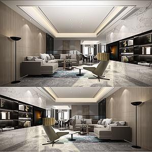 現代客廳69模型3d模型