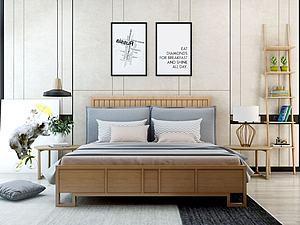床具模型3d模型