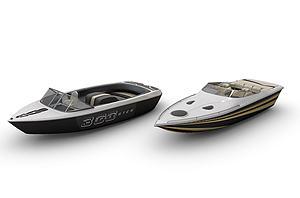 輪船模型3d模型