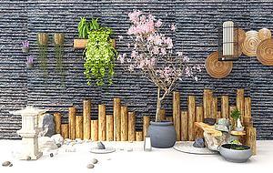 園林景觀模型3d模型