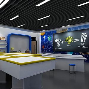 创客教室3d模型