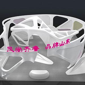 展示厅3d模型