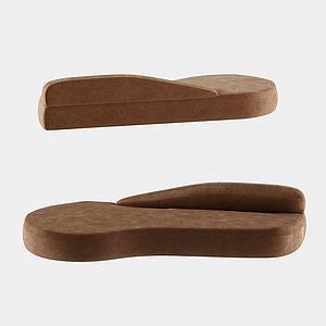 現代設計沙發舒適3d模型