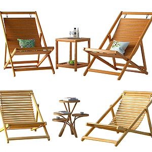 現代休閑椅子3d模型