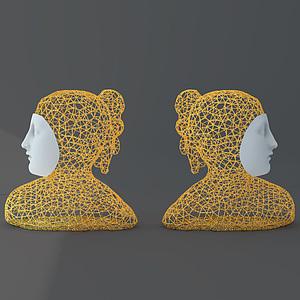 陶瓷器皿模型3d模型