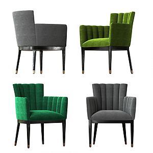 現代單人沙發椅模型3d模型