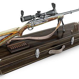 長槍3d模型