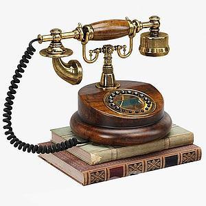 電話模型3d模型