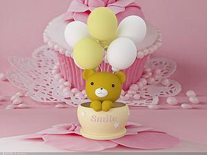 氣球熊模型3d模型