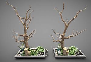 現代風格模型3d模型