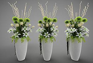 裝飾花瓶模型3d模型