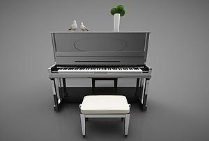 鋼琴模型3d模型