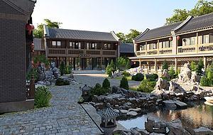 建筑景觀模型3d模型