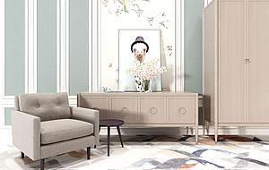 裝飾柜休閑沙發模型3d模型