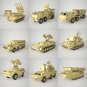 武器模型3d模型