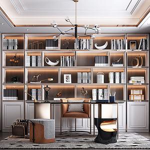 書房3d模型