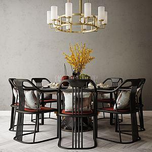 家具餐桌模型3d模型