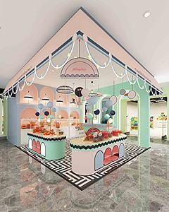 商場店鋪模型3d模型
