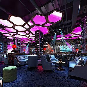 酒吧3d模型
