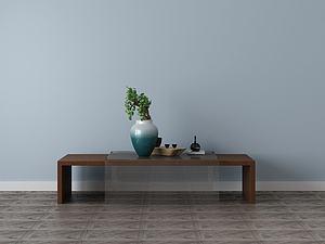 家具飾品組合茶幾模型3d模型