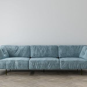 家具飾品組合休閑沙發3d模型