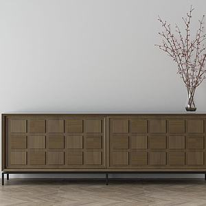 家具飾品組合電視柜3d模型