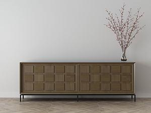 家具飾品組合電視柜模型3d模型