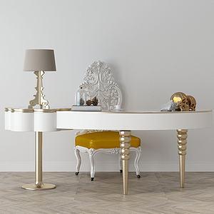 家具飾品組合3d模型