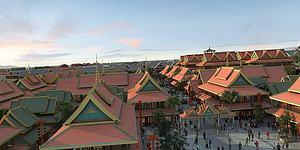 東南亞,寺廟模型3d模型