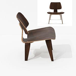 北欧简约单椅模型3d模型