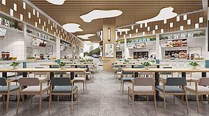 商场超市全景模型3d模型