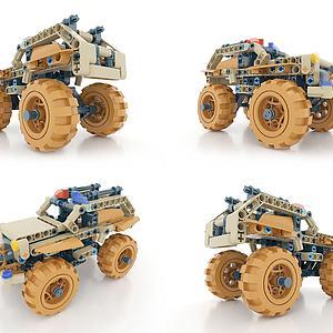 LEGO_汽车3d模型
