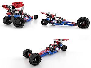 LEOGO-樂高汽車現代積木模型3d模型