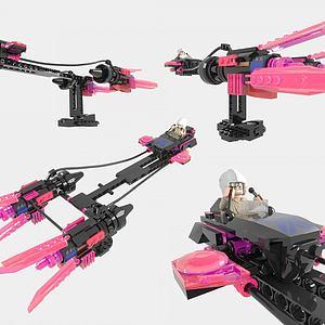 LEGO樂高積木玩具3d模型