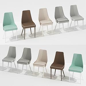 现代居家休闲椅组合模型3d模型